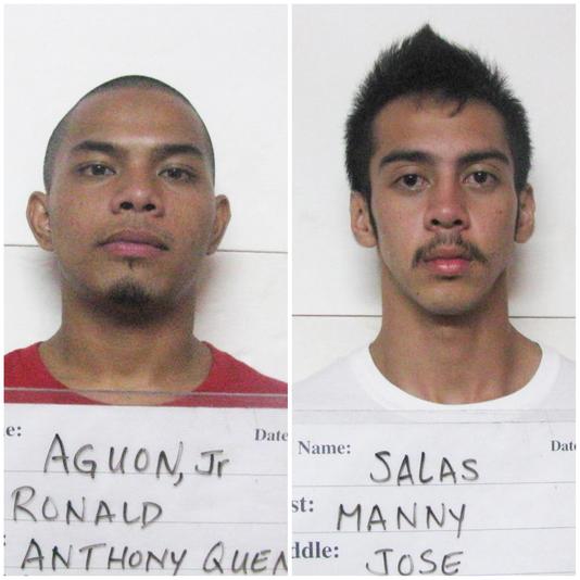 Ronald Aguon Manny Salas