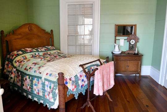 The master bedroom of Deason Home in Ellisville is said to be haunted.