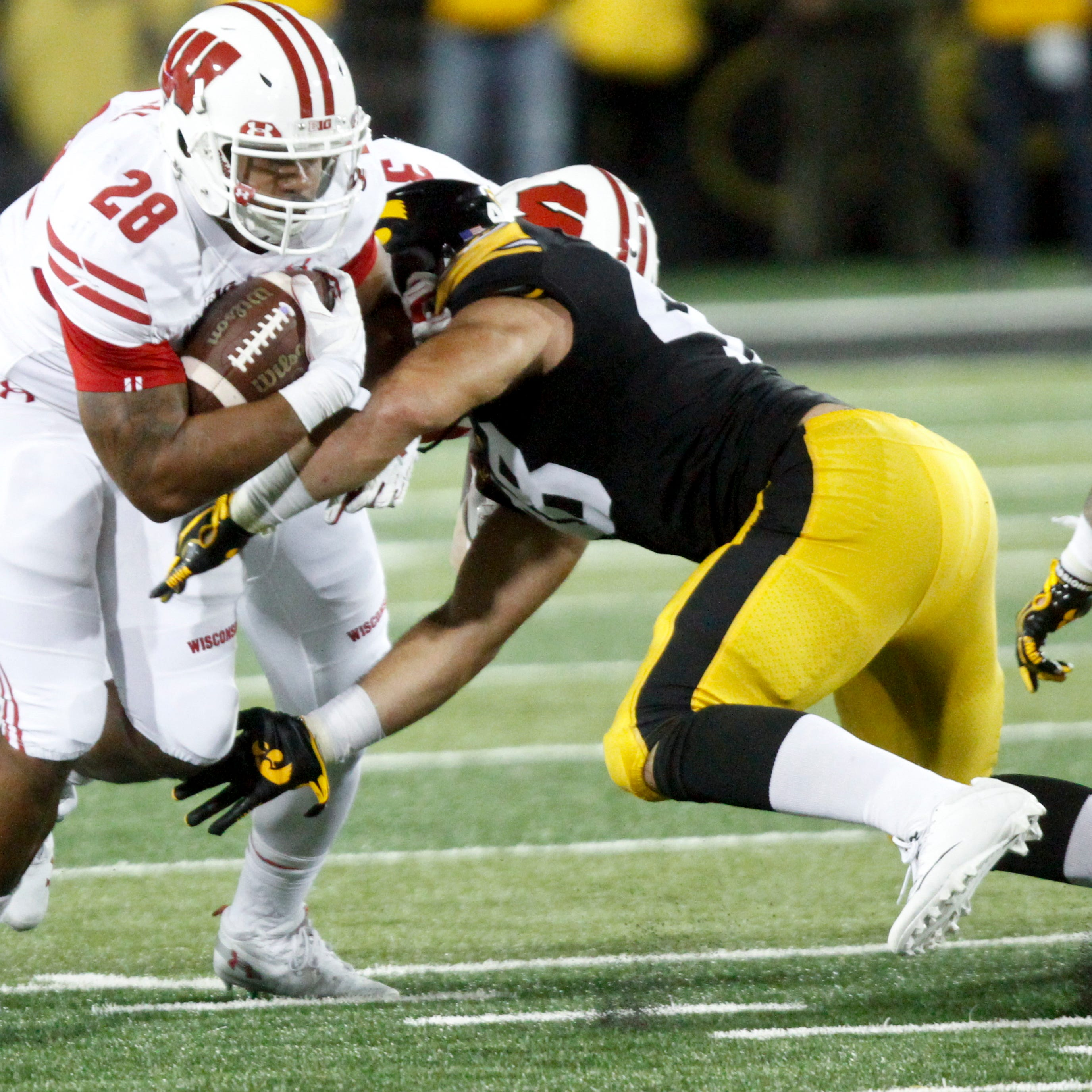 Iowa football: Staff 'feels comfortable' if freshman Dillon Doyle plays middle linebacker