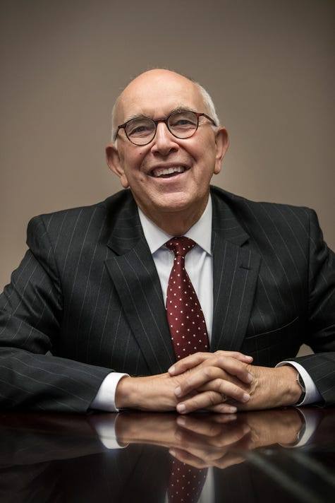 Marion County Prosecutor Terry Curry Portrait In Indianapolis Indiana