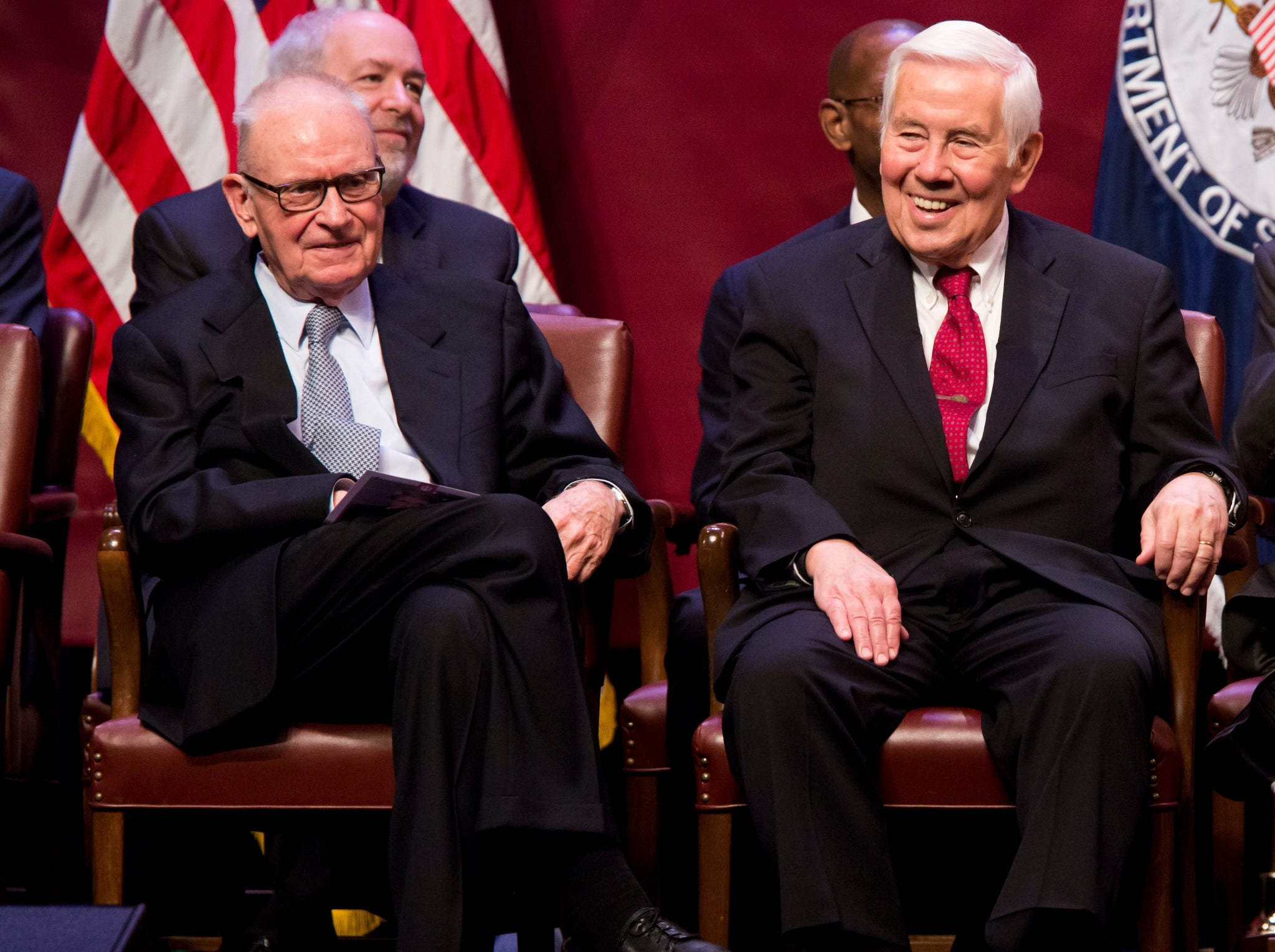 Lee Hamilton and Richard Lugar.