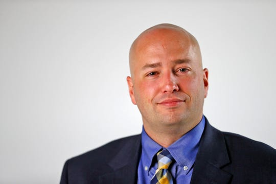 Ben Strahm is the Republican candidate for Marion County Prosecutor, Friday, Sept. 21, 2018.