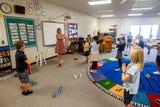 Whitney Giller is the kindergarten through 5th grade music teacher at Regina.