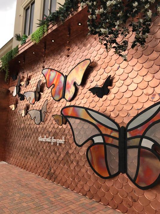 Asbutterflies