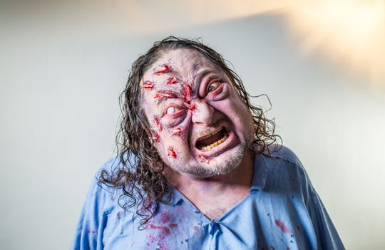 The monsters get pretty creepy at Ripley's Haunted Fright Nights.