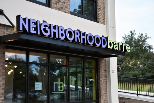 Neighborhood Barre Powell is at 207 E. Emory Road, across from Aubrey's.