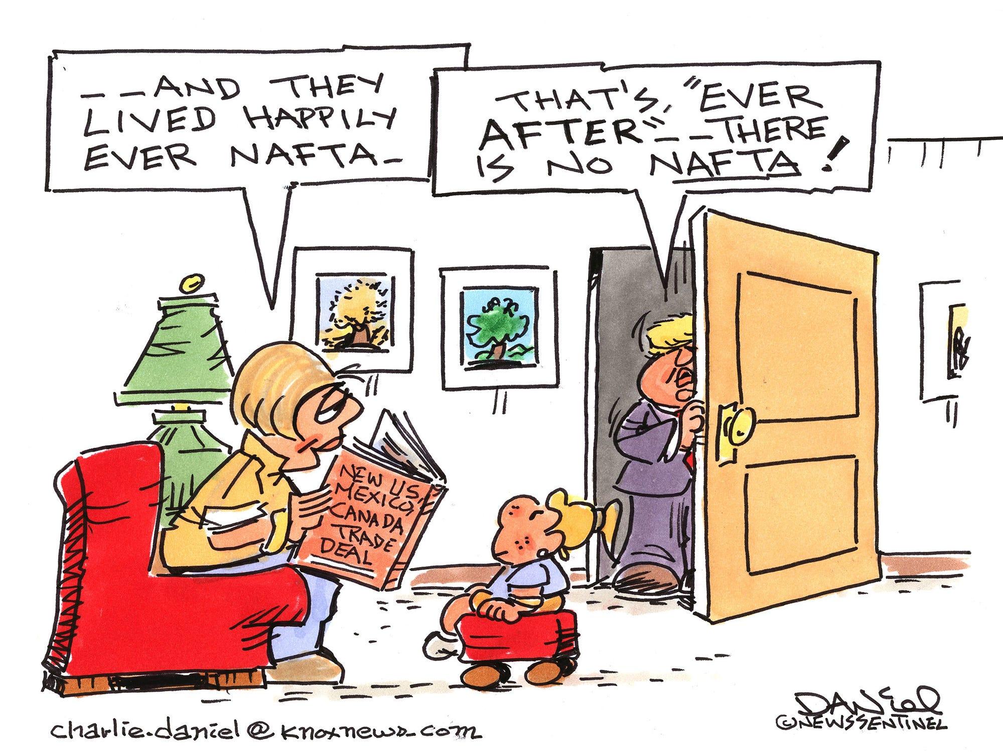 Charlie Daniel cartoon for Thursday, Oct. 4, 2018