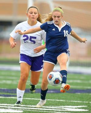 Sophomore midfielder Caroline Lutz scored 17 goals this season.