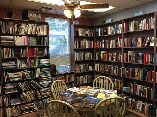 Alexander Books on Congress Street has a wide selection of used books in a variety of genres.