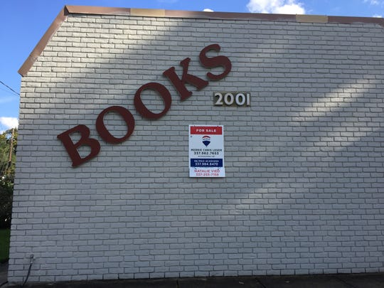 Alexander Books on Congress Street is for sale.