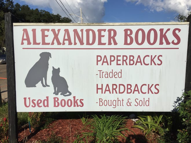 Alexander Books has been open on West Congress Street for nearly 30 years. The business is now for sale.