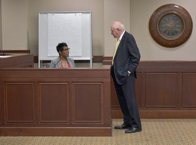 Judicial Tenure Commission hearing for Judge Theresa ...