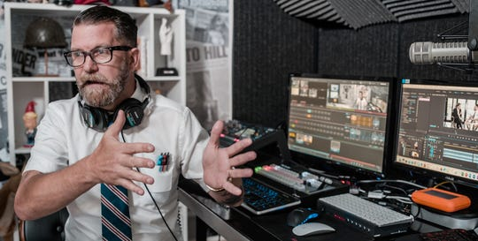 """Right-wing commentator Gavin McInnes appears in Nick Stumphauzer's documentary """"How to Kill 14 People without Saying a Word."""""""