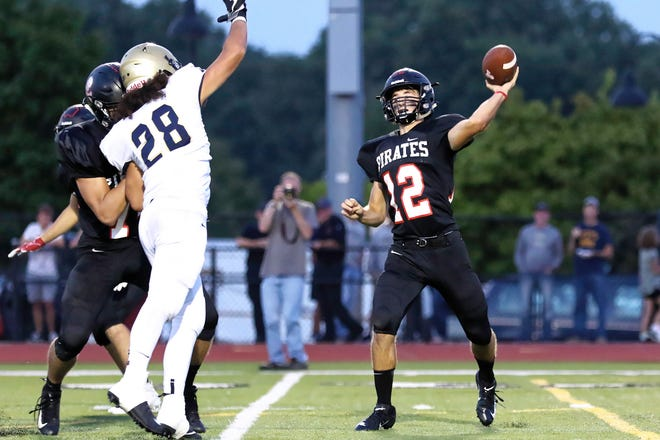Pinckney's Joe Bona leads Livingston County with 914 passing yards and eight touchdown passes.