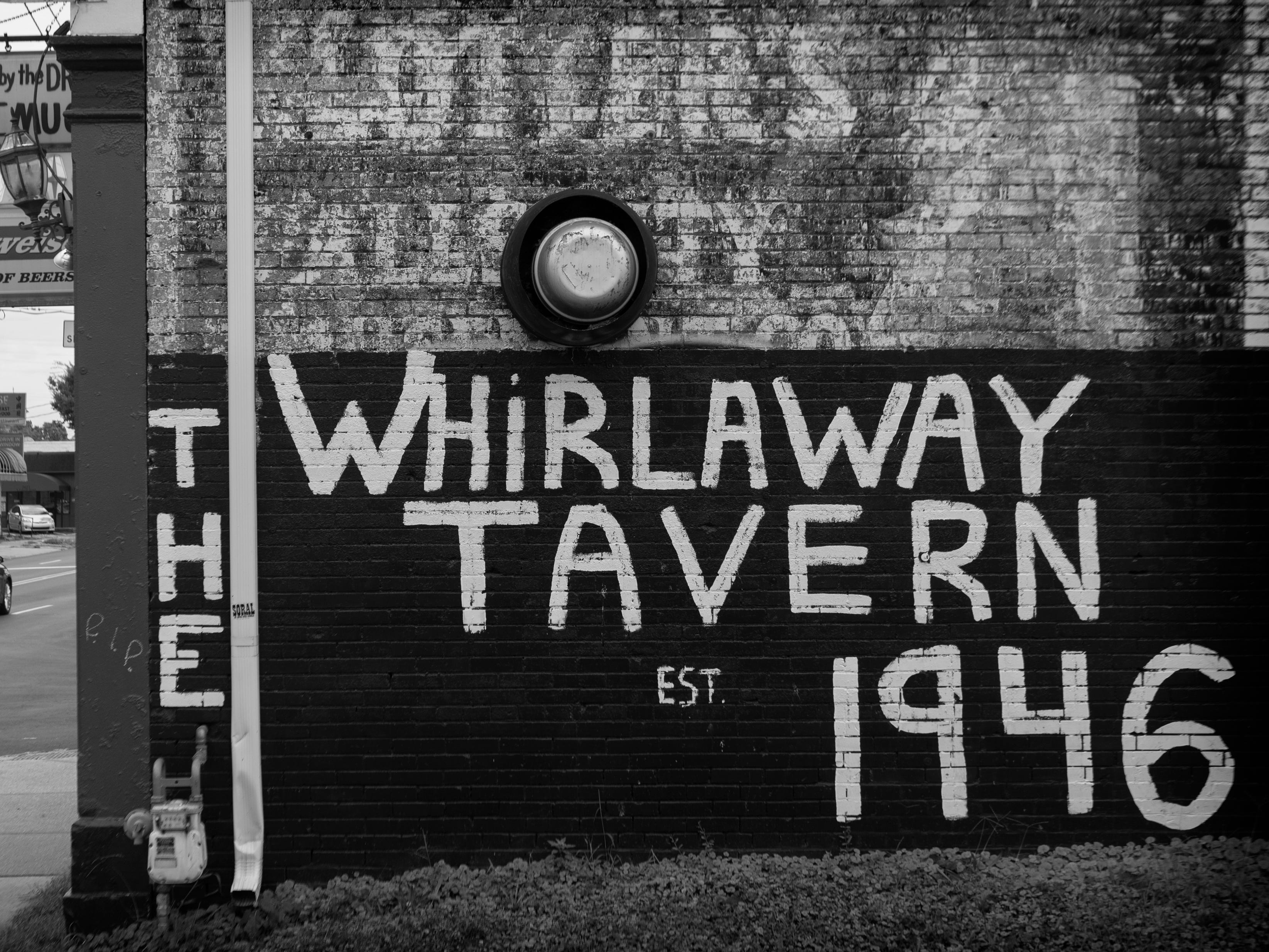 Closing time at Louisville's Whirlaway Tavern