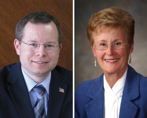 Candidates for 7th District Clinton County commissioner