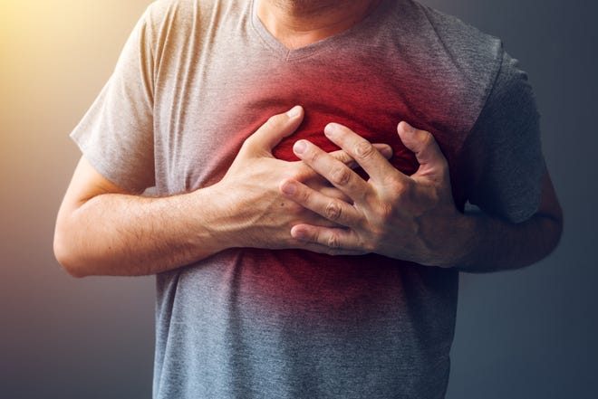 The most common signs of a heart attack can start in your chest.
