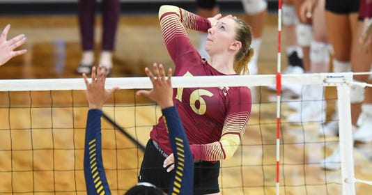 Ncaa Womens Volleyball Aug 28 Nc A T At Elon