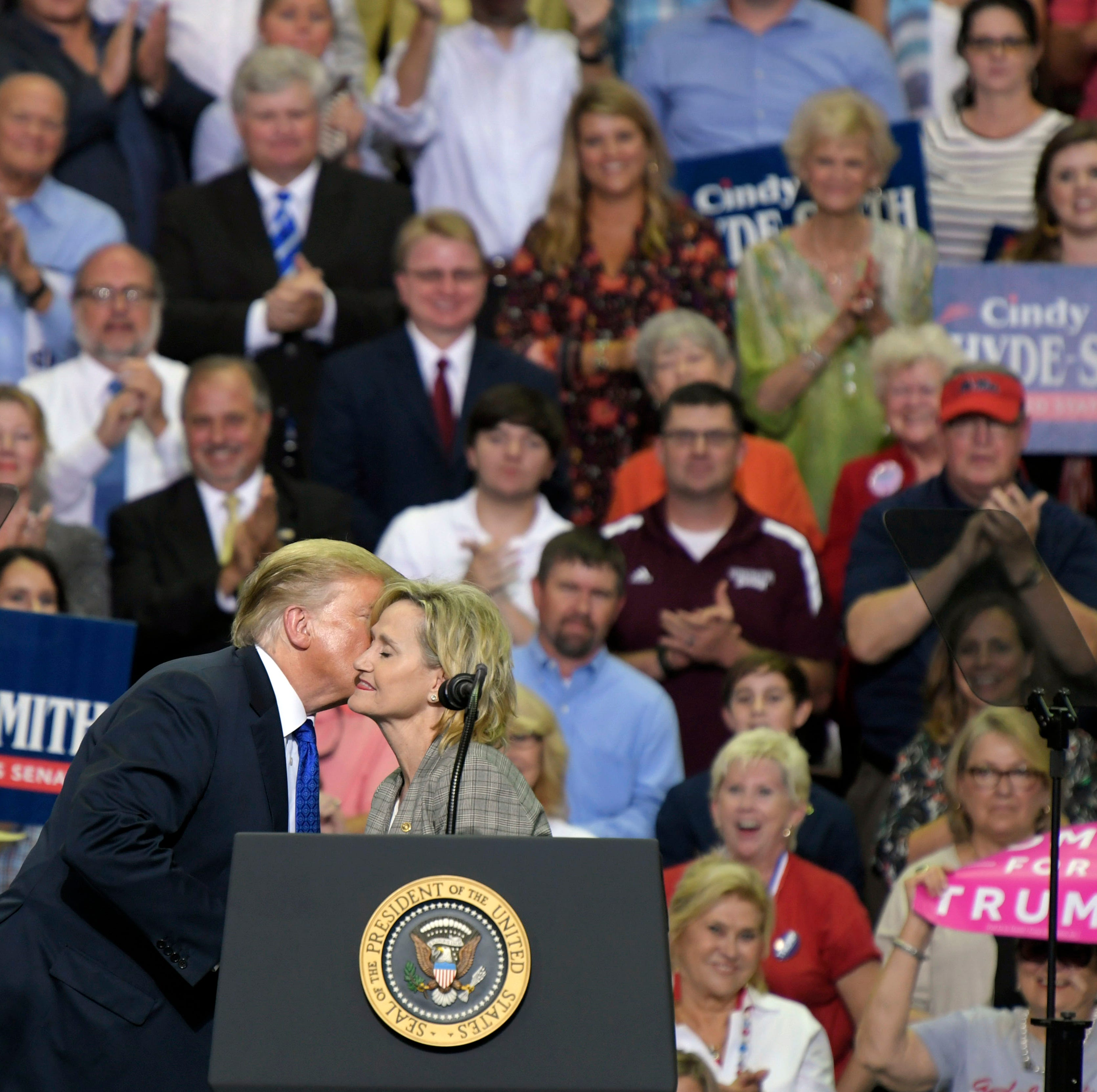 President Trump considering another Mississippi trip for Cindy Hyde-Smith
