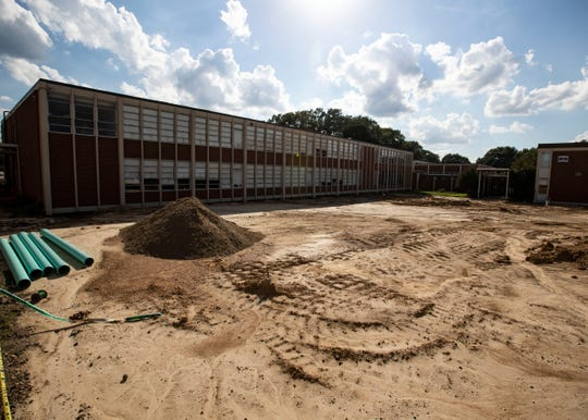 Bartlett High School is undergoing a $60 million renovation that will be complete in August 2020. The renovation will feature new class rooms, a courtyard and many other upgrades.