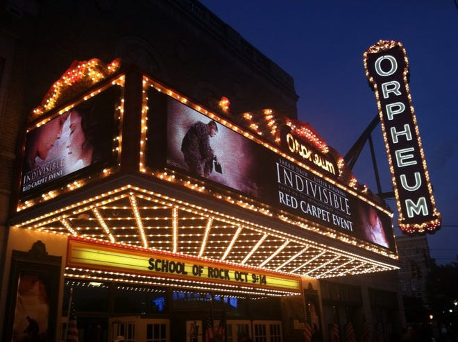 One Orpheum, 'Indivisible': David Evans' second made-in-Memphis Christian feature film had its world premiere Oct. 2 at the Orpheum.