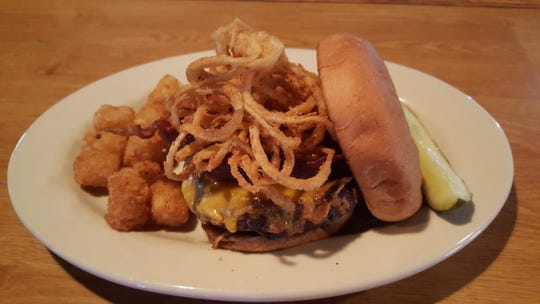 The Roadhouse Burger is among the favorites and best-sellers at Richfield Roadhouse.