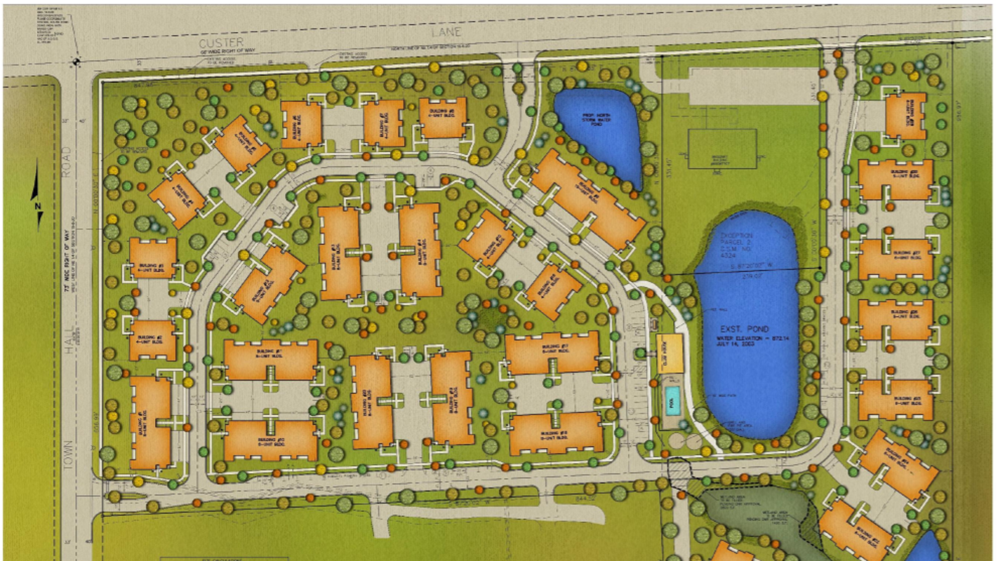 Tamarack Springs Townhome Development Could Come To Menomonee Falls Polygo Minie Mouse By Sentinel