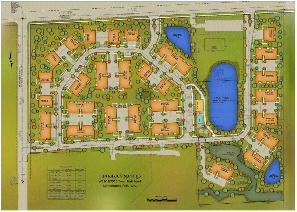 Tamarack Springs townhome development could come to