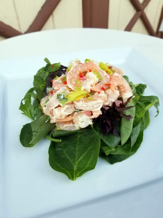 uask20-larry's shrimp salad