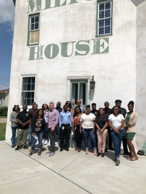 Members of CUNA Mutual's African-American Employee Resource Group (ERG) visited Milton House, a historical marker that once served as a stop on the Underground Railroad. For many attendees, the experience renewed a commitment to service and our mission to help others, the company said.