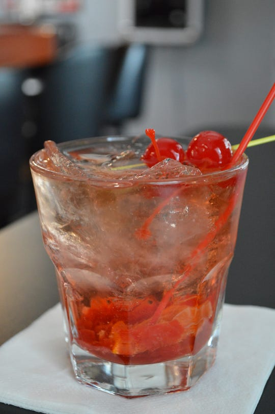Pack N Brew's Old-Fashioned is made from scratch. It costs $4.50.