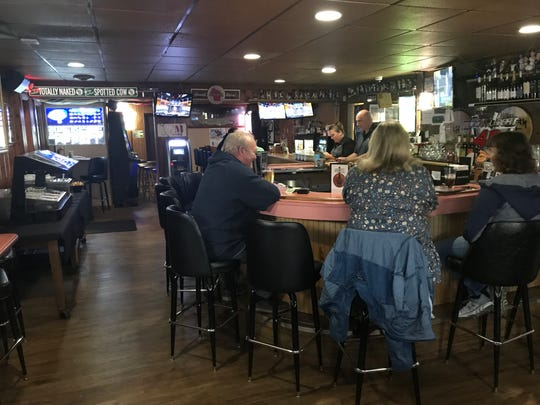 Lisa Wirkkula and Bryan Schmitt pride themselves on providing a friendly, fun sports bar atmosphere to go along with good food and fair prices.