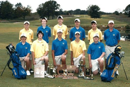 Golf Team 2007 Picture 1