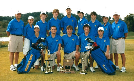 2006 Mountain Home Bomber golf team
