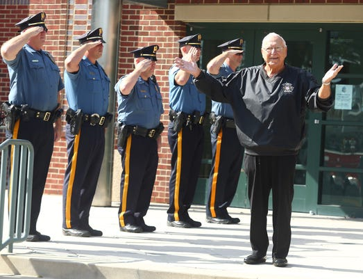 Hanover Police Walkout