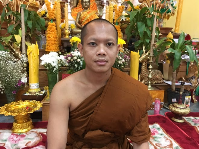 Kaikeo Sulisak, interim head monk of the Lao Buddhist Temple on Old Nashville Highway in Murfreesboro, will be the guest chaplain at the next Rutherford County Commission meeting.