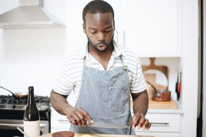 Simoni Kigweba, chef at Stay Golden Restaurant & Roastery.
