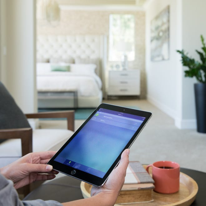 Wireless technology allows you to control thermostats, lighting, garage doors, exterior door locks, appliances, entertainment systems and other home automation features with the touch of a screen.