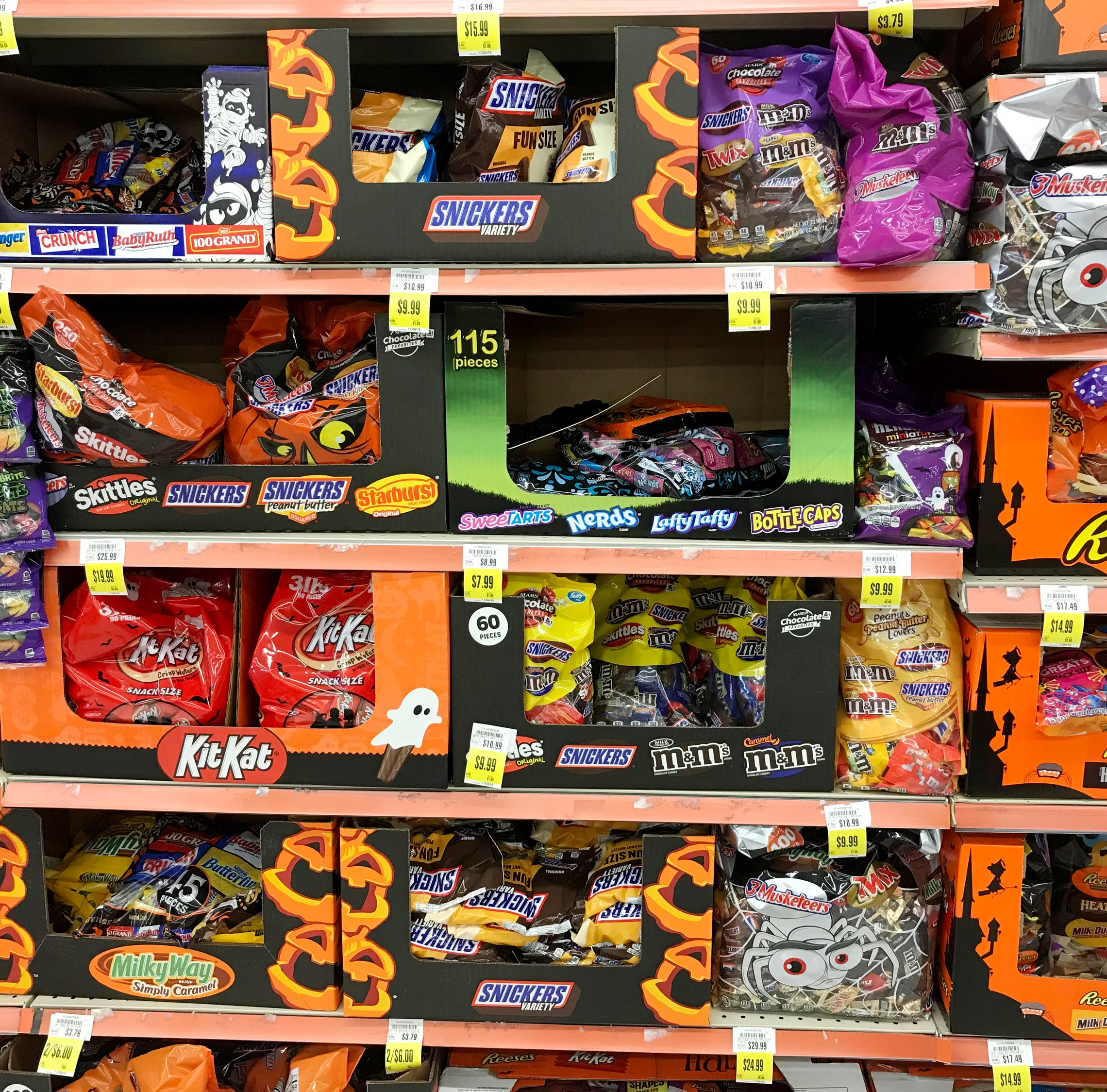 Smart shopping can make buying Halloween candy...