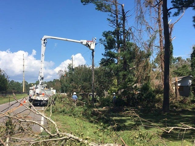 In Middle Tennessee, most of us ride out a storm from the comfort and convenience of our homes. However, there is a group of professionals who springs into action when the weather takes a turn for the worst: utility lineworkers.