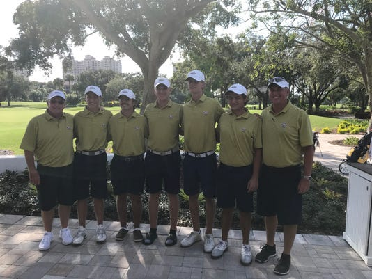 Naples High boys golf
