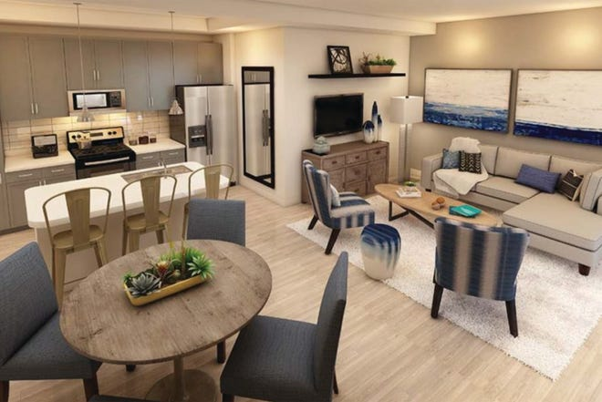Furnished models are open in Inspira, new apartment community on Rattesnake-Hammock and Grand Lely Drive.