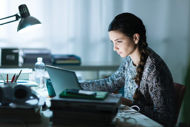 When writing a college application essay, students should choose a topic that reveals something unique about them that an admissions counselor can't glean from the application and transcript.