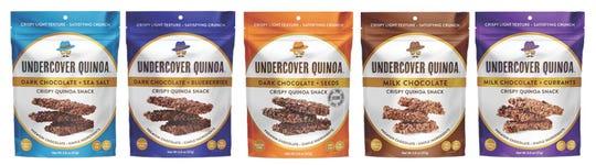 Chocolate, quinoa and assorted goodies