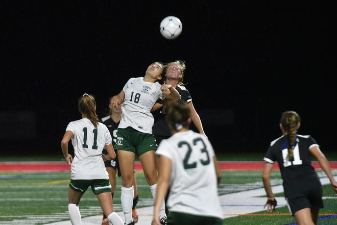 Ramapo upsets Northern Highlands, 3-2, in double overtime in Allendale on Tuesday, Oct. 2, 2018.