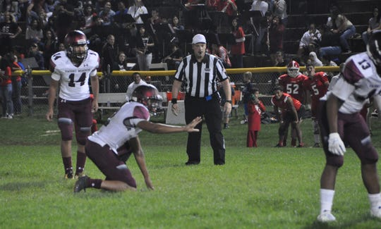 Dwight Morrow kicker Danny Torres has a chance to continue his football career in college.