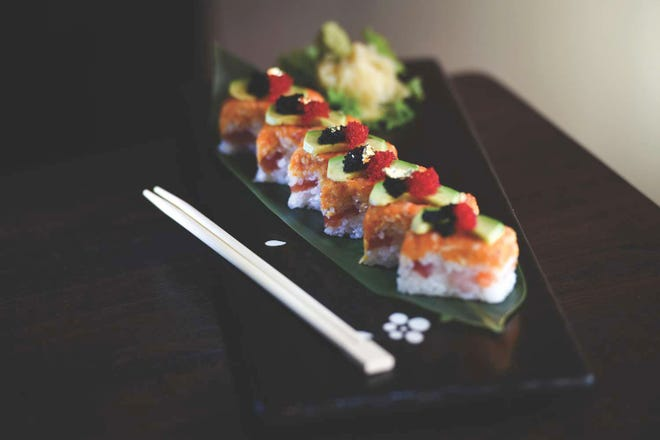 Dozo Roll, photographed at Dozo Sushi & Asian Cuisine in Livingston