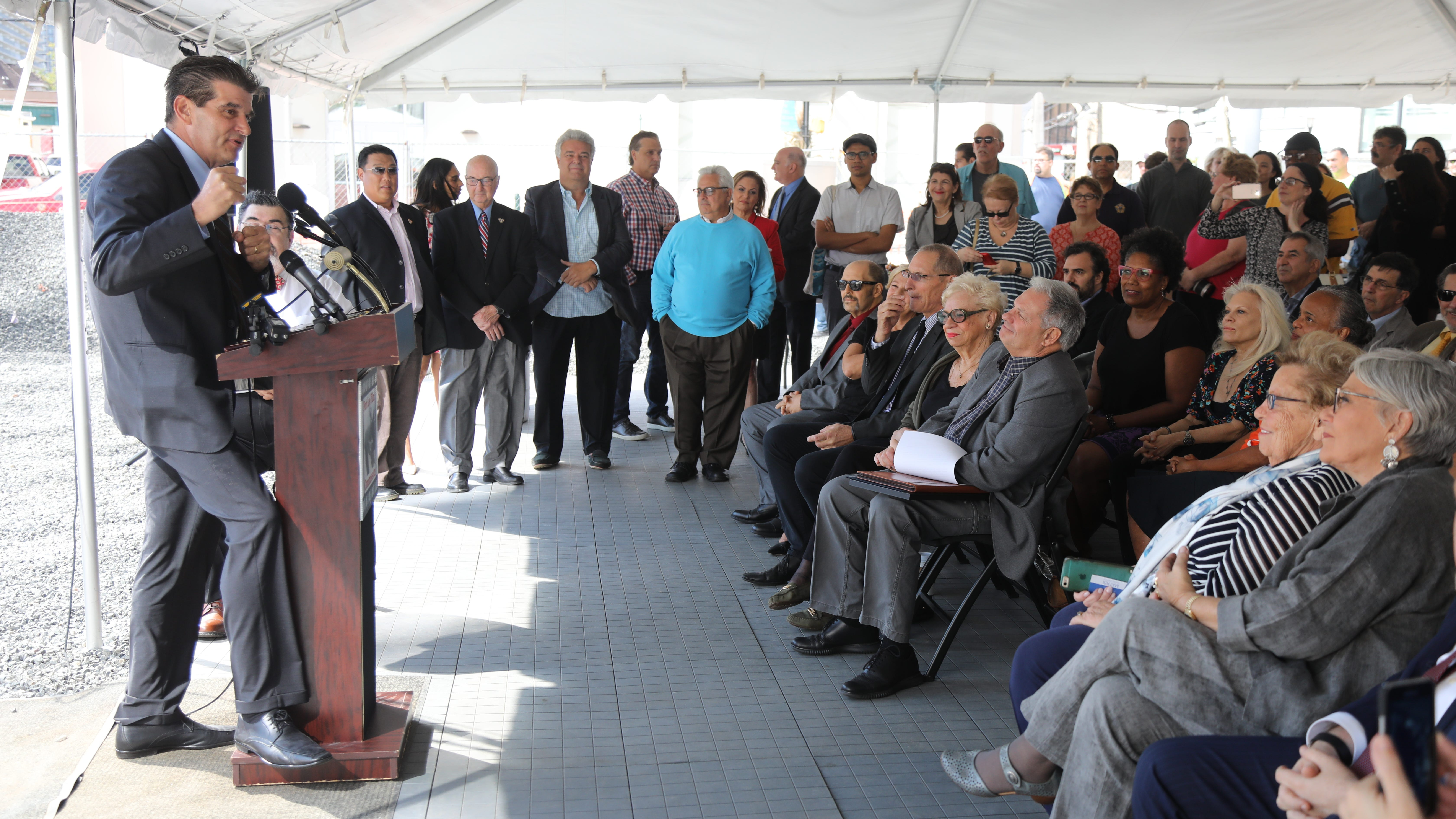 Fort Lee parking deck to open next week, new park and office building slated for next year
