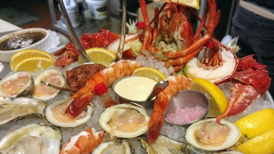 A little of this and a little of that raw seafood at Fin Raw Bar & Kitchen in Montclair