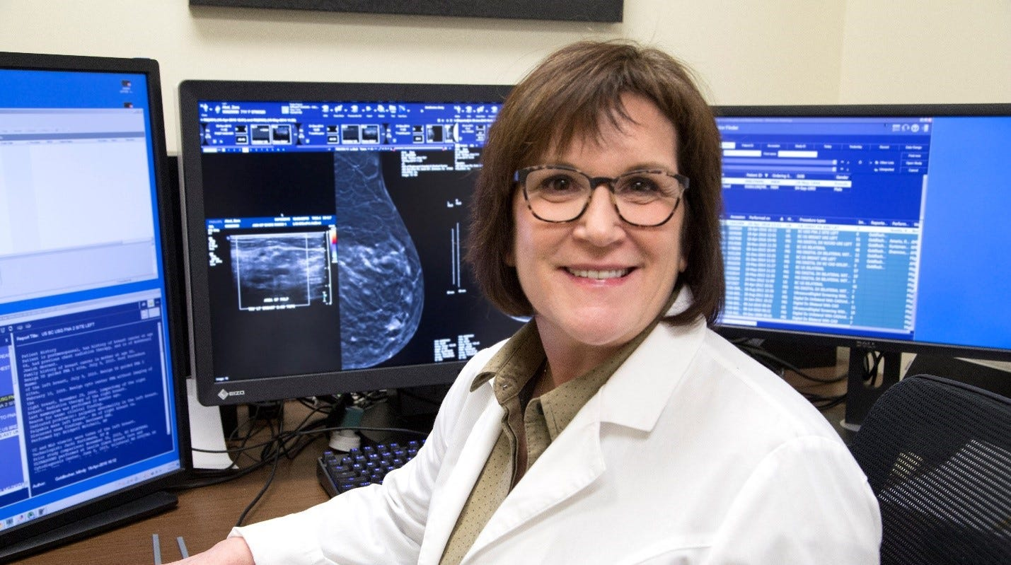 Dr. Mindy Goldfischer has served as the chief of breast imaging at Englewood Health for more than 25 years.